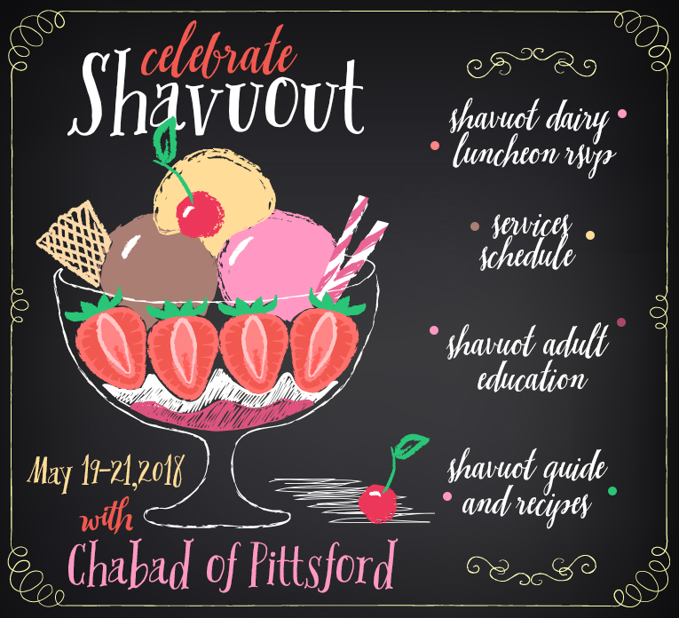 Shavuot at Chabad - Chabad-Lubavitch of Pittsford